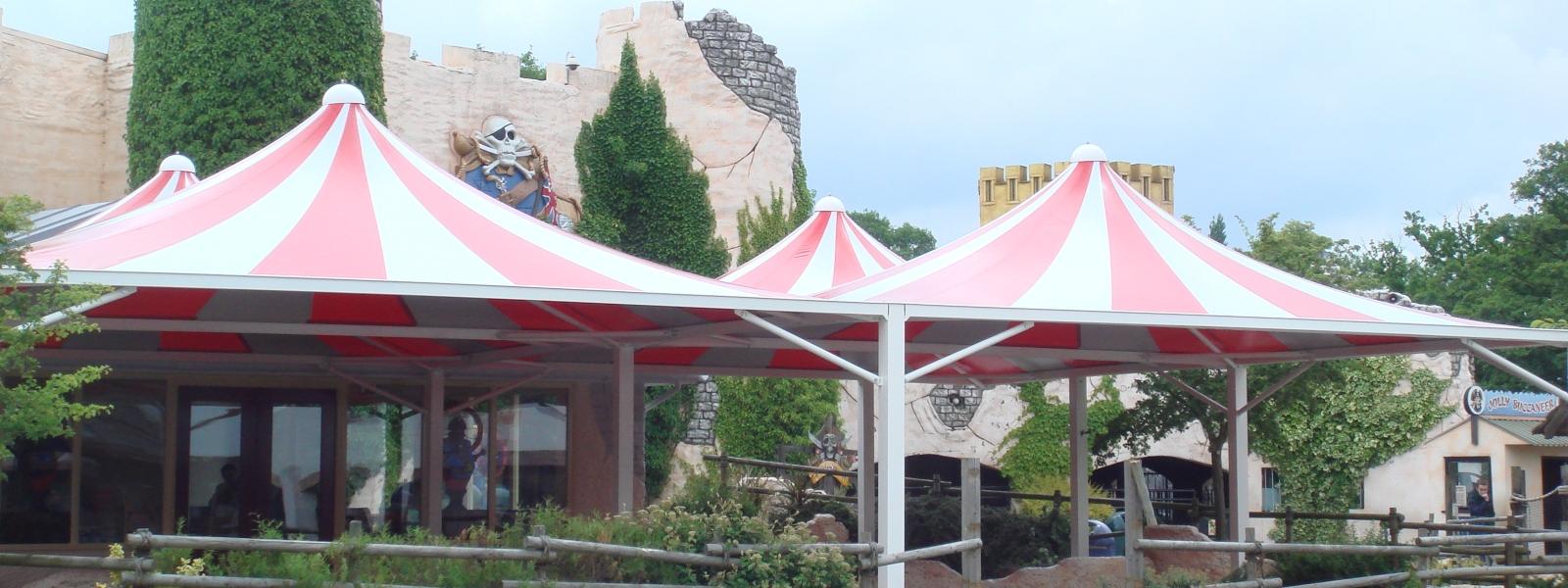 Theme Park Canopy