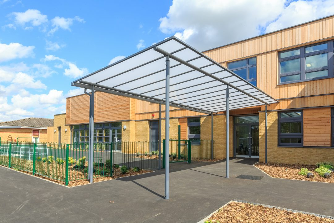 Motiva Linear Entrance Canopy