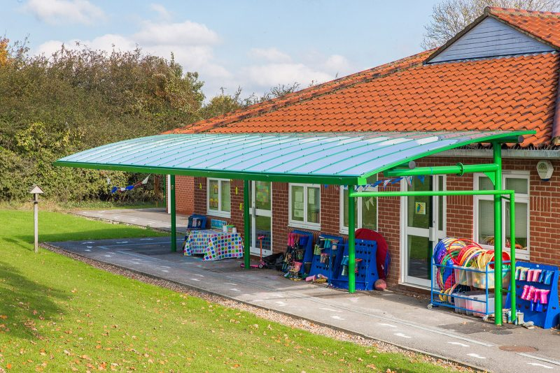 Motiva Cantilever Shelter Primary School