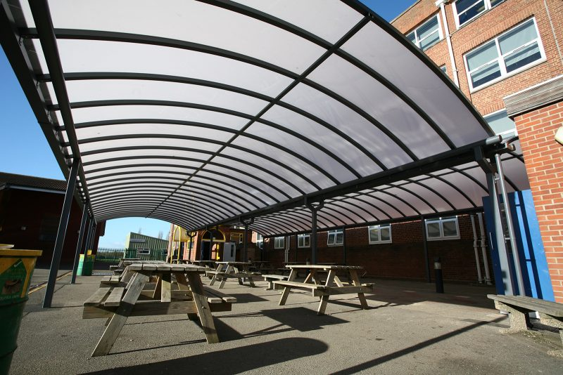 Motiva Duo Double Dining Canopy