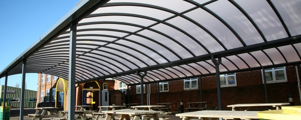 Motiva Duo Double Sheltered Dining Area