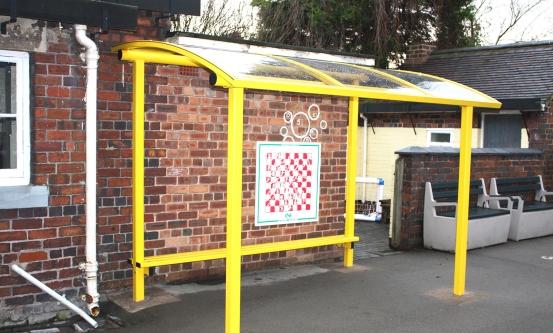 Yellow School Canopy