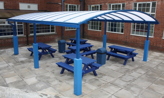 Outdoor School Dining Canopy