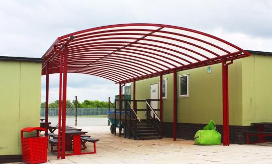 Red School Canopy