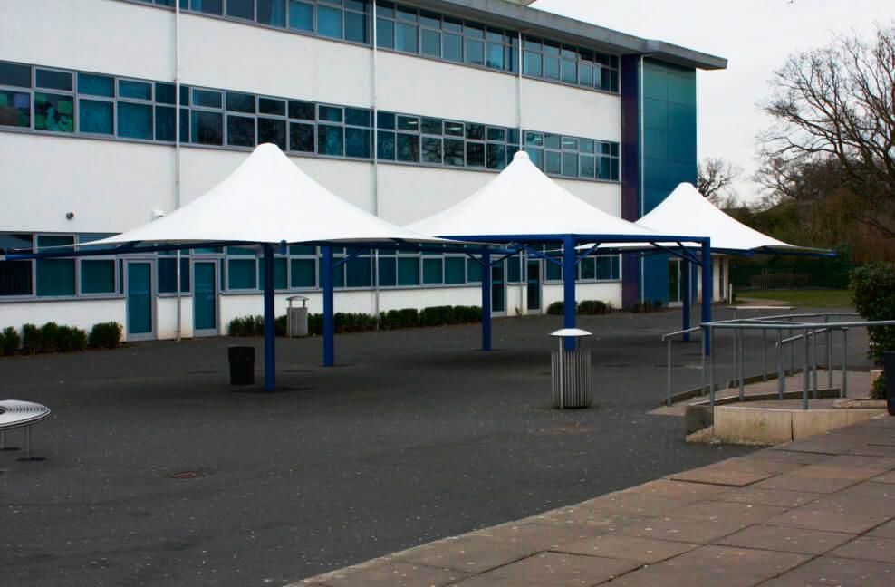 Lighthall School Maxima Tepees