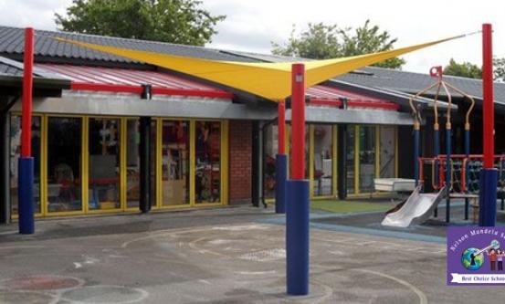 Nelson Mandela School Canopy