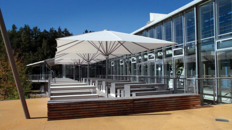 Parasols Covered Seating