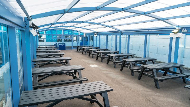 St Wilfrid's Dining Canopy