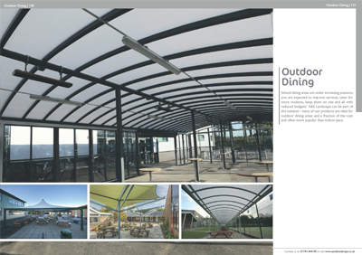 A&S Landscape Outdoor Dining Brochure