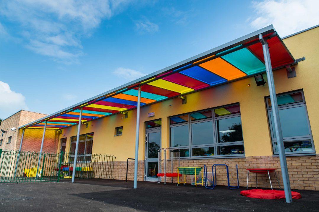 Llandysul School Canopy