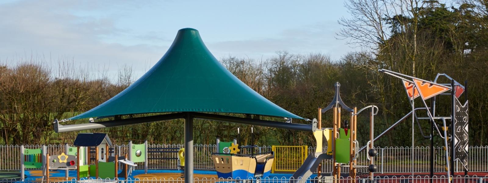 Park Umbrella Canopy