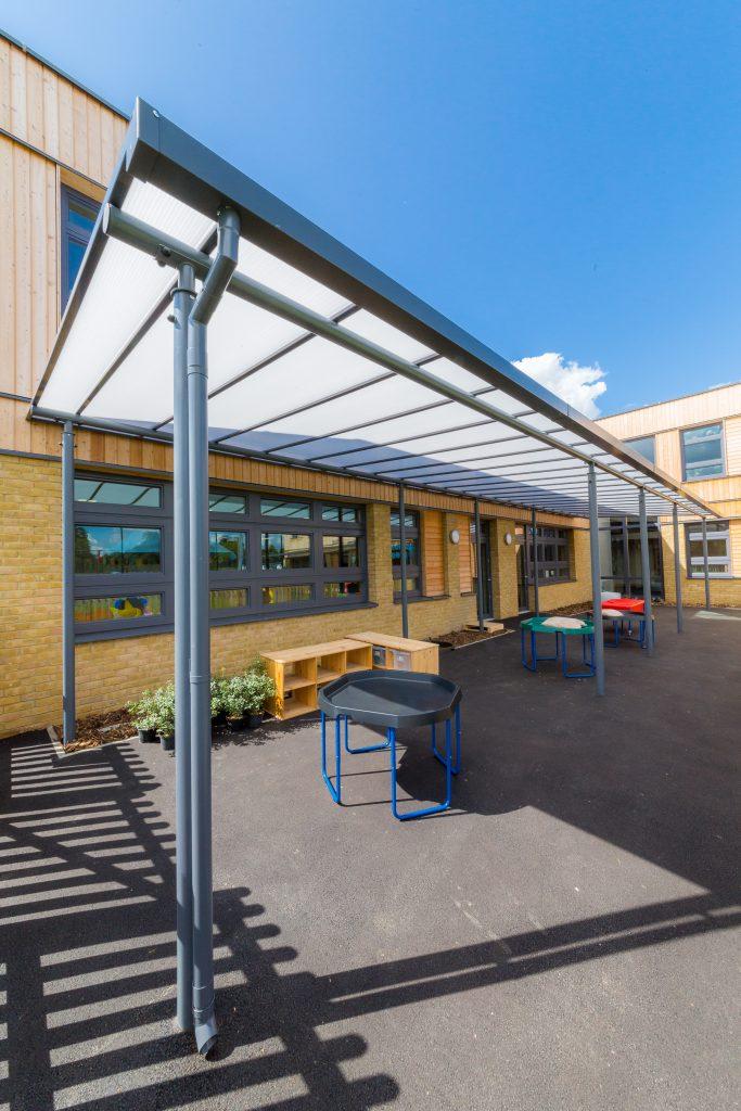 Playground Motiva Linear Canopy