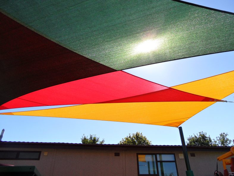 Coloured School Sails